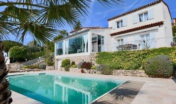 Dpt Alpes Maritimes (06), Cannes hinterland, villa with heated pool