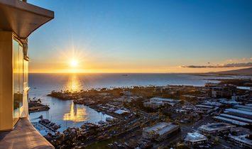 Ae'o Condo, Kakaako, Mountain Views, Sunset Views