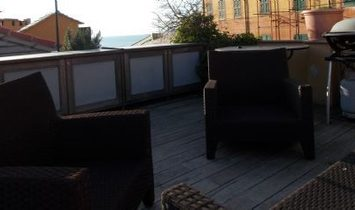 CAMOGLI MARINA delicious comfortable finely renovated penthouse with livable terrace