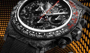 "Rolex DiW Cosmograph NTPT Carbon Daytona ""SPEEDSTER"" (Retail:US$42,990)"