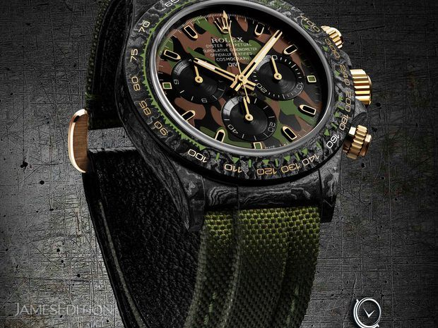 "Rolex DiW Cosmograph NTPT Carbon Daytona ""MILITARY GREEN""... (10691764)"