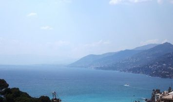 CAMOGLI PENTHOUSE COMFORTABLE with large terrace and sea view
