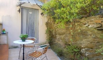 Charming Village House, Sold Furnished, With 100 m2 Living Space, 2 Terraces And A Garage.