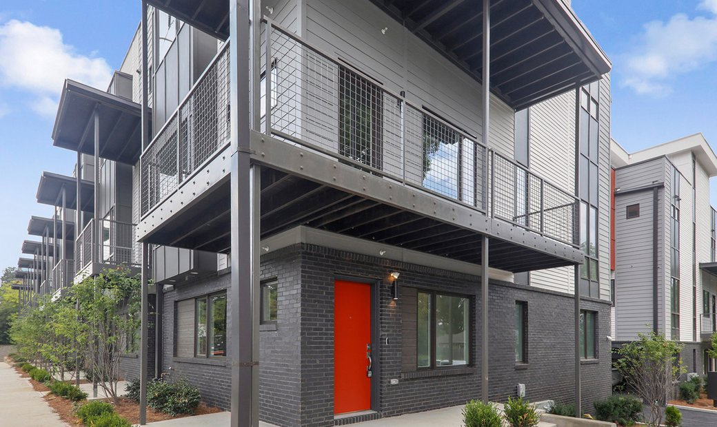 Madison Village Is A Community Of 16 Artfully Designed Contemporary Townhomes