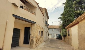Barn Converted Into Habitation With 114 m2 Of Living Space, Garage, Courtyard And Terrace.