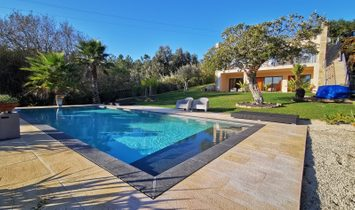 3 BEDROOM VILLA WITH POOL, VIEW ÓBIDOS LAGOON LAND PLOT WITH 8000 M2