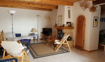 Charming Village House With 100 m2 Of Living Space, Garden Of 200 m2, Terrace And Pool.