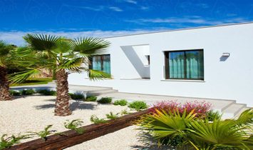 ALBOR MODEL IN LIRIOS SUNRISE ¡¡ Detached villa with 853 m3 Private Plot and built area of 355