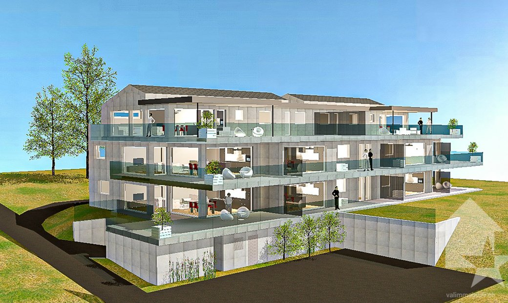Résidence moderne en construction, plus que 6 appartements disponibles