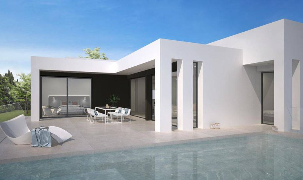 Located in Benitachell (Between Jávea and Moraira) VILLA CRETA in Residential LIRIOS DESIGH with mo