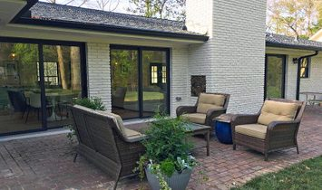 Completely Renovated Modern European Style One Level Home
