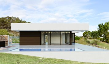 The idea with this villa has been to create a villa where you have everything in just one level