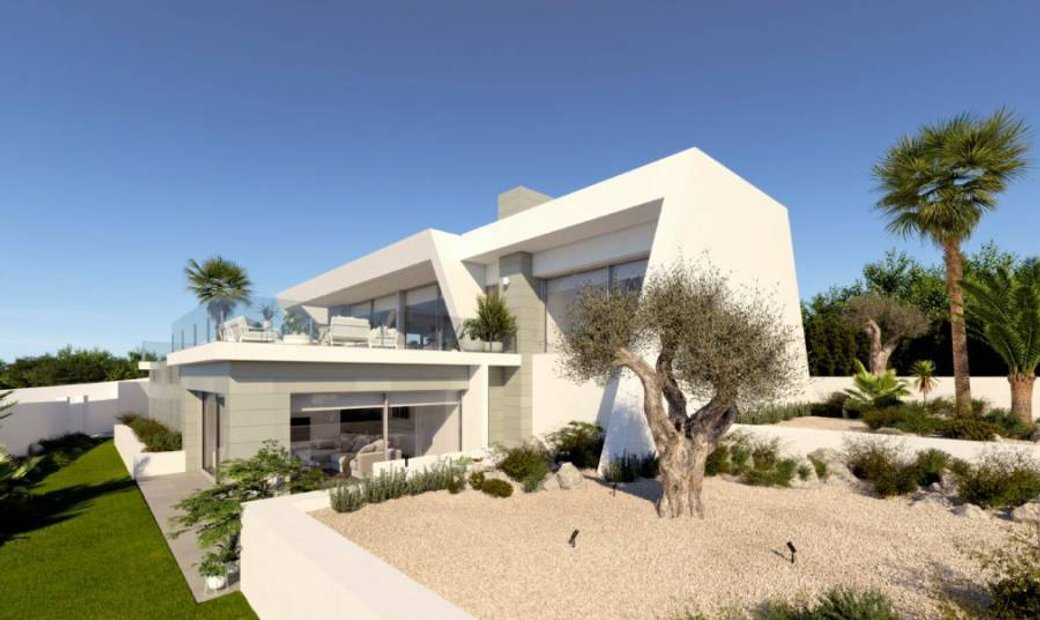 Located in Benitachell (Between Moraira and Jávea) MAJESTUOUSPROJECT VILLA IN RESIDENTI