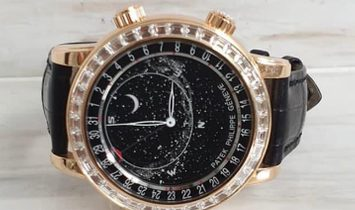 PATEK PHILIPPE NEW GRAND COMPLICATIONS CELESTIAL ROSE GOLD 6104R