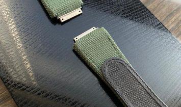 Richard Mille RM 30 Medium Velcro Olive Green Watch Band