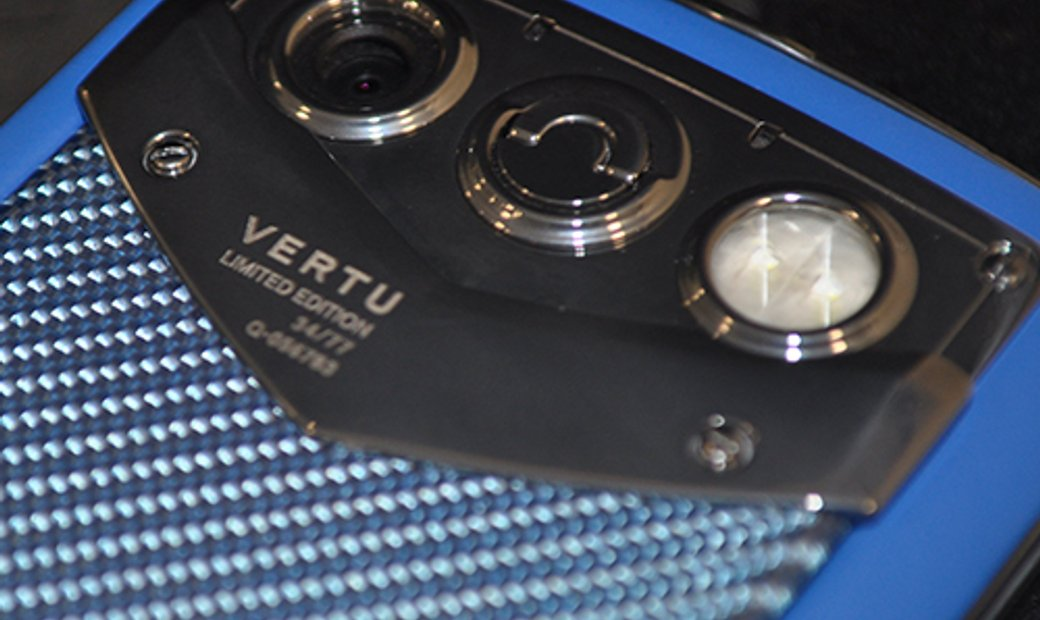 Vertu Constellation Quest Blue Limited Edition # 24/77 Luxury Phone New