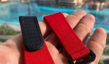 Richard Mille RM 30 Medium Velcro Red Watch Band
