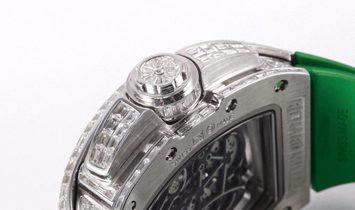 Richard Mille RM61-01 Yohan Blake White Gold Diamond Set.