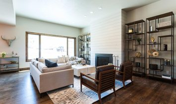 The Uinta Model At High Star Ranch With Stunning Outdoor Living