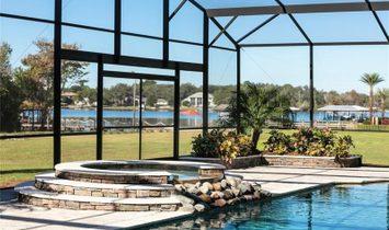 Elegant Pool/Spa Home on Lake Brantley