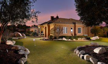 A Private Well Maintained Custom Single Level Estate