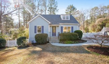 Charming Cape Cod Bungalow On Large Lot In Ashford Park
