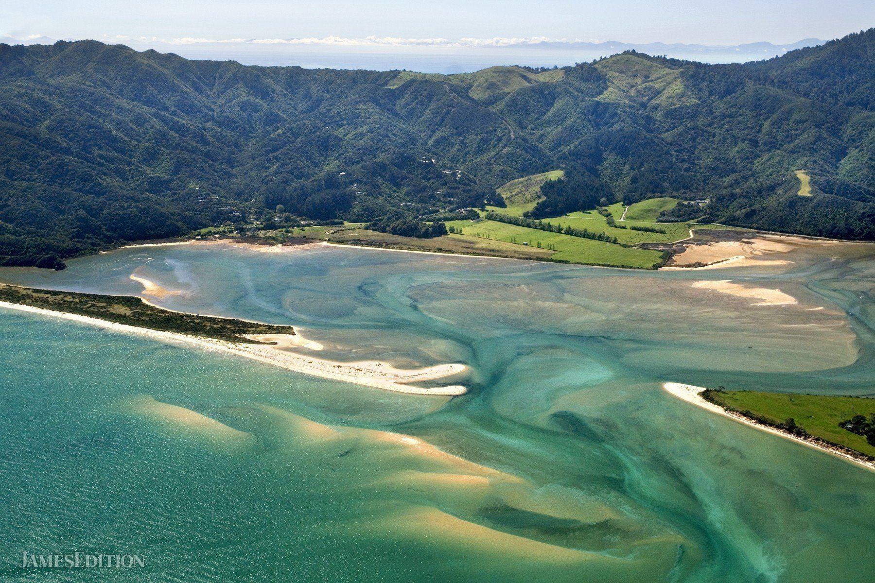 Land in Kahurangi National Park, Tasman, New Zealand 1