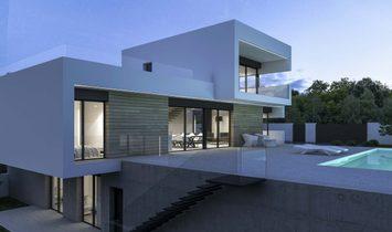 Modern new build villa Benissa