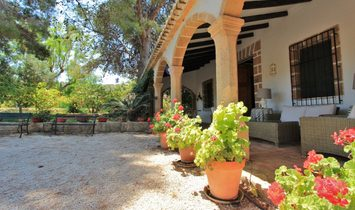 Rustic Finca 15.783m 2 with Manor House and orange trees in production. Javea. Costa Blanca