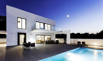Impressive development of 6 villas of luxury in EL MONTGÓ. Denia.