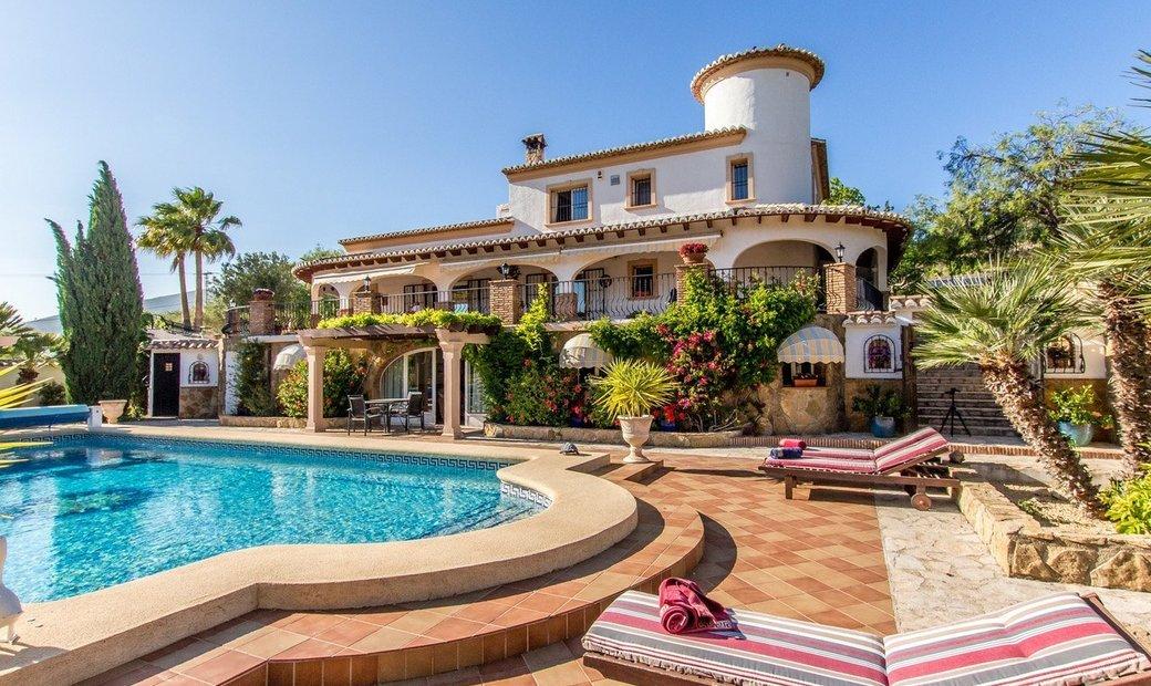 Luxury country villa in Lliber Costa Blanca