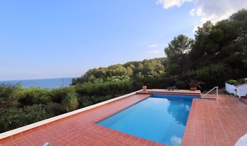 Villa with sea views and 100 m from the beach in Benissa | Cala Advocat