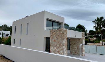 New construction villa with sea views in Benissa coast, La Fustera