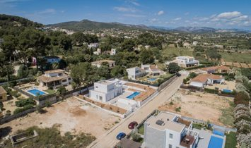 Modern Ibiza style villa new build for sale in Javea