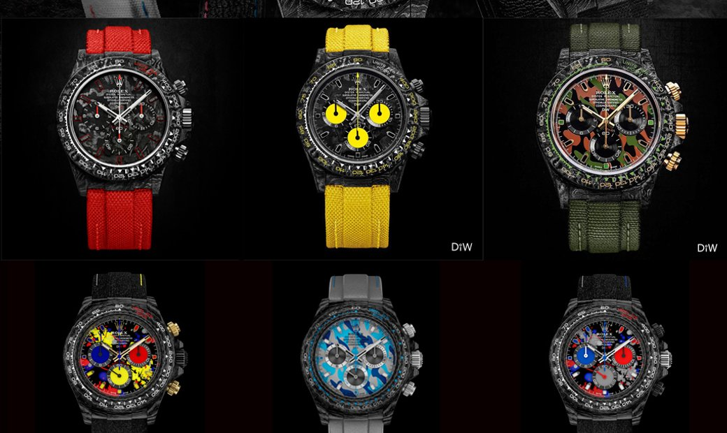 DiW NTPT Carbon Daytona - The Lightest Rolex Daytona in the World!!