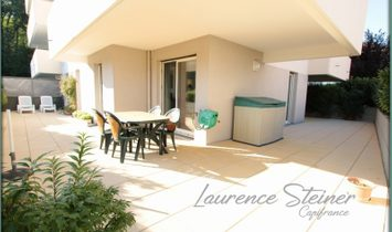 Nice flat T4 of 107,72 m ² with superb terrace of 87 m ²
