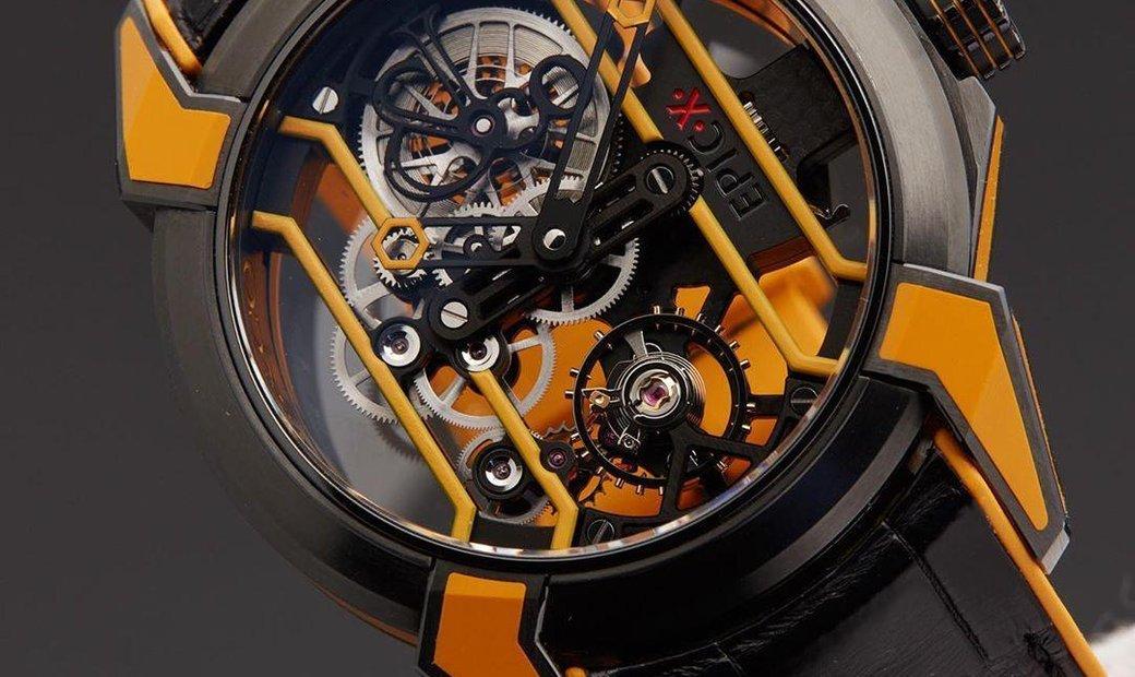 Jacob & Co. 捷克豹 [NEW MODEL] Epic X Racing Orange Mens Watch