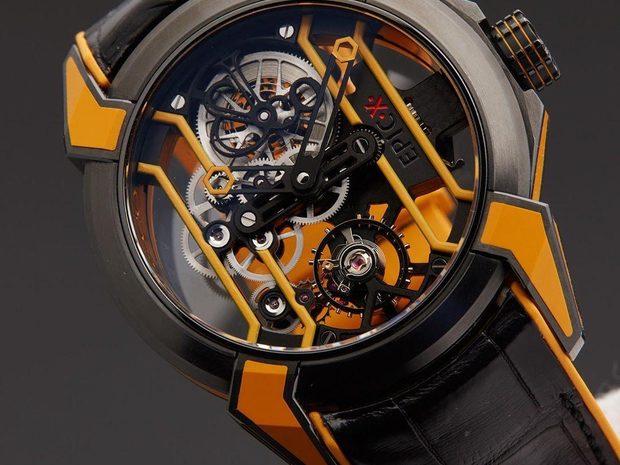 Jacob & Co. 捷克豹 [NEW MODEL] Epic X Racing Orange Mens Watch (10807452)