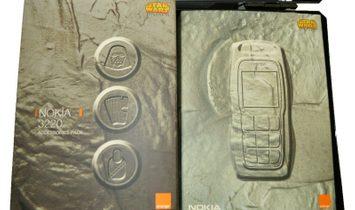 Star Wars Edition Memorabilia, Nokia 3220 Blue Phone, Year 2004 New