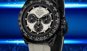 Rolex DiW NTPT Carbon Daytona Panda CREAM (Retail:US$40,990)