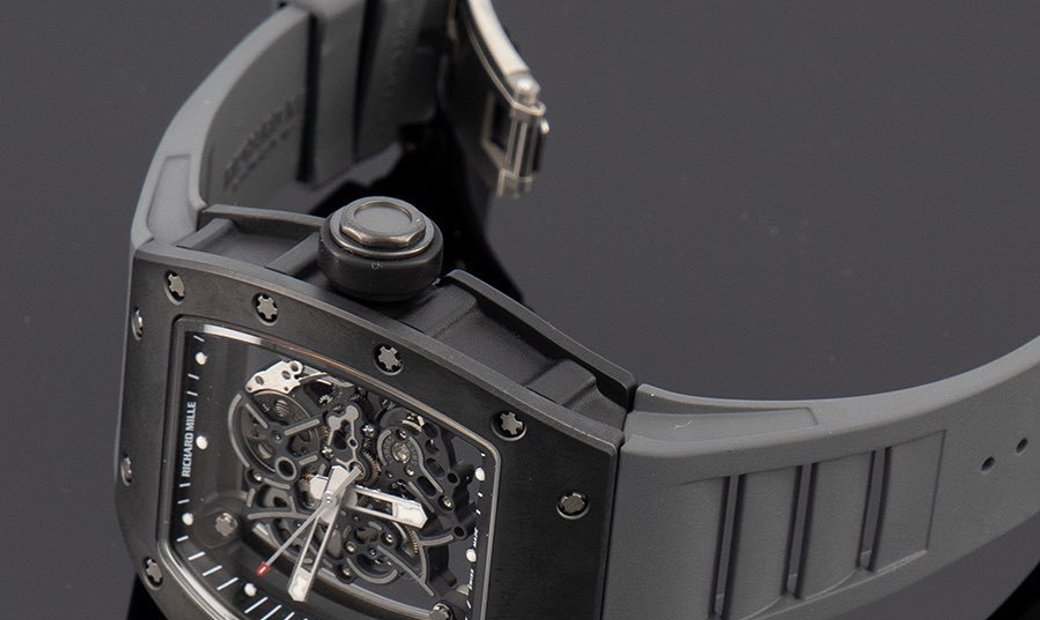 Richard Mille RM 055 Bubba Watson Black Edition
