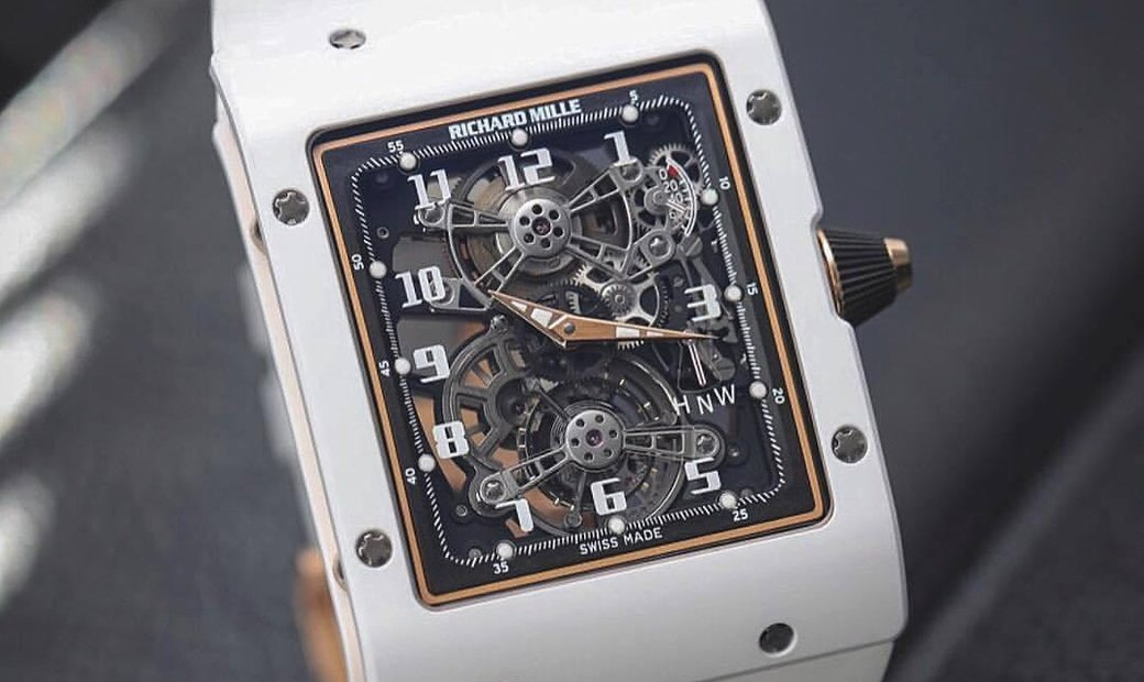 Richard Mille RM 017 Extra Flat Tourbillon Limited Edition