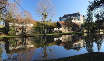 Large 18th C. chateau near Saint Malo at 5 km from the sea