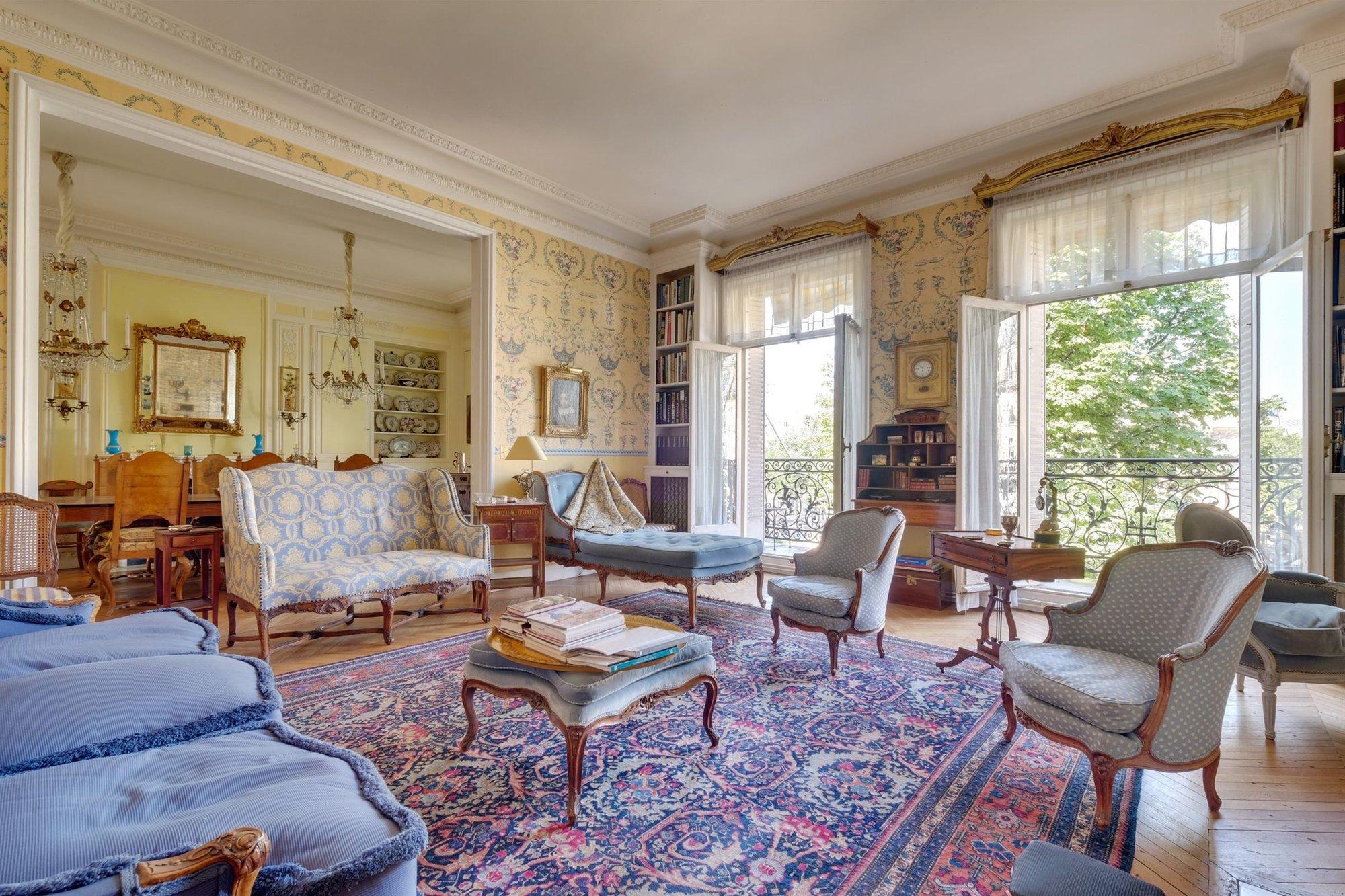 Prestigious Apartment In Paris 16th Palais Galliera in ...