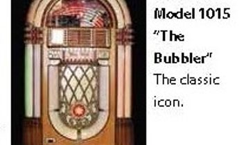 "Jukebox Wurlitzer Model 1015 ""The Bubbler"""
