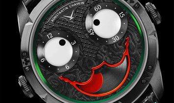 """DiW Black DLC NTPT Carbon Dial """"Joker"""" By Konstantin Chaykin Limited Edition of 18 Pieces Only"""