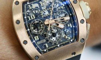 Richard Mille RM 11-FM Felipe Massa 18K Rose Gold Ivory