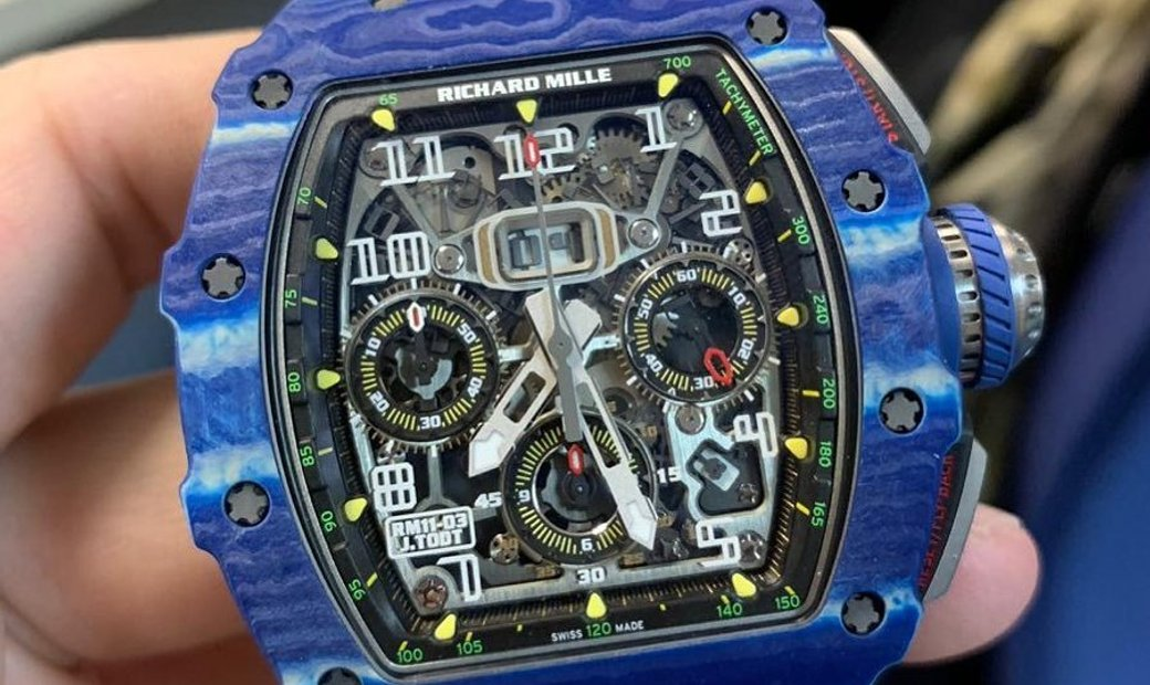 Richard Mille RM 011-03 Jean Todt Limited Edition