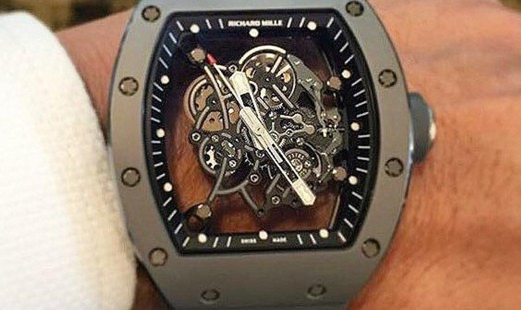 Richard Mille RM 055 Bubba Watson Grey Edition