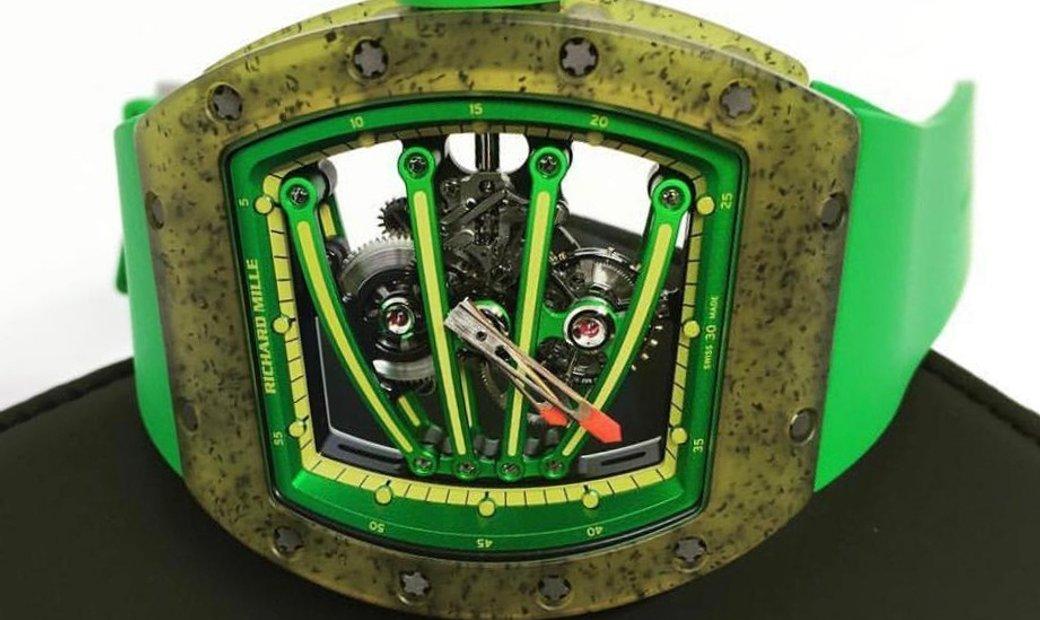 Richard Mille RM 59-01  Yohan Blake NTPT Carbon Tourbillon